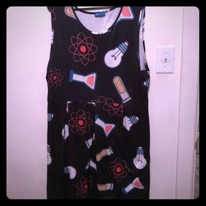 Science themed dress